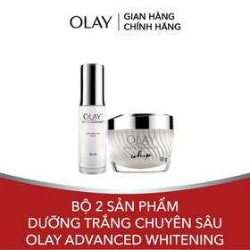 Bộ 2 sản phẩm dưỡng trắng chuyên sâu Olay Advanced Whitening - TUOL0056CB