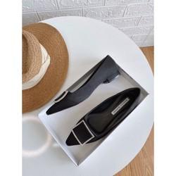 Giày Anh Khoa L992-4, giày lười nữ hàng Việt Nam xuất khẩu, chất liệu sợi dệt siêu bền, Hàng chính hãng
