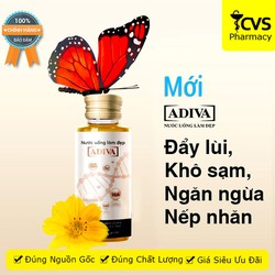 ADIVA Collagen Dạng Nước Mẫu Mới - Giúp Ngăn Ngừa Lão Hóa Hiệu Quả Cho Da (hộp 14 chai)