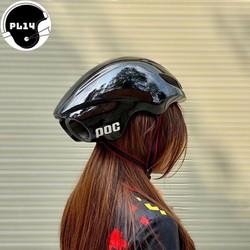 Nón Bảo Hiểm Thể Thao Poc Po2 Đen Bóng - PC002