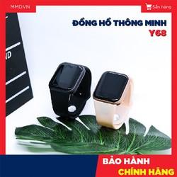 Đồng hồ Thông Minh  Y68 - M  / Hàng chuẩn nội địa,   Nghe Gọi, Bluetooth, Đo nhịp tim - Đồng hồ thông minh 44mm, Chống nước
