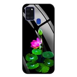Ốp lưng mặt lưng kính cường lực cho điện thoại Samsung A21S - IN HÌNH M04