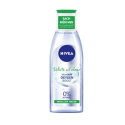Nước Tẩy Trang Da Nhờn NIVEA White Oil Clear Micellar Water 200ml (Xanh Lá)