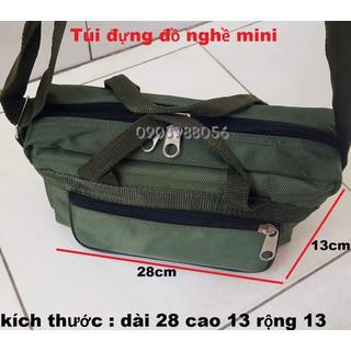 Túi đựng đồ nghề mini dày 2 lớp loại bền - mininxanhlinh thumbnail