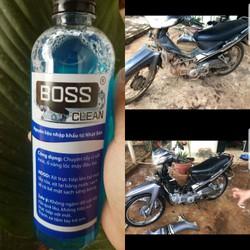 dung dịch tẩy rửa lốc xe boss 500ml
