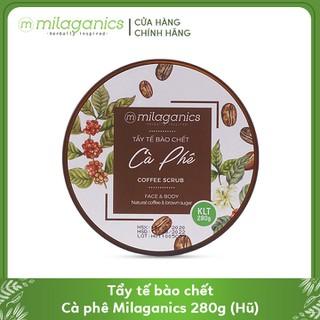 Tẩy Tế Bào Chết Cho Mặt Và Toàn Thân Từ Cà Phê Robusta Natural Coffee & Brown Sugar Scrub MILAGANICS 280g (Hũ) - 8936089076402 thumbnail