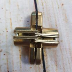 Bản lề âm chữ thập 14x45mm
