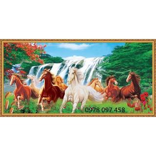 Tranh ngựa - tranh gạch trang trí phòng - N54-9 thumbnail