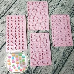Khuôn silicon làm kẹo dẻo kẹo Chip 18 mẫu Ver1