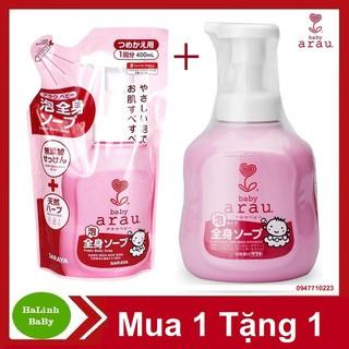 Combo Sữa Tắm Arau Chai 450ml + Túi 400ml - Arau thumbnail