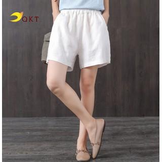 Quần short đũi nữ lưng chun thời trang QKT QT20 - QT20 thumbnail
