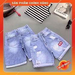 Quần lửng nữ, quần ngố nữ vải jean màu was đẹp hình thật do shop chụp