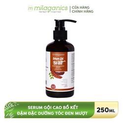 Serum gội chăm sóc tóc Bồ kết MILAGANICS 250ml