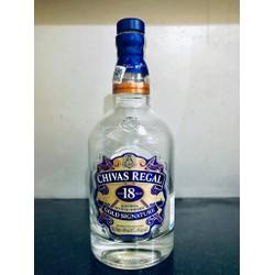Vỏ chai rượu. Chivas 18 0,7 lít