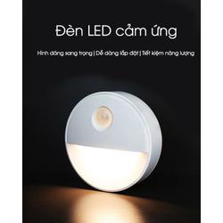 [Miễn phí vận chuyển] Đèn mini thông minh-Đèn led cảm ứng -Đèn cảm cảm biến cơ thể người-Đèn ngủ -Đèn ngủ hồng ngoại thông minh
