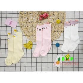 Set 3 đôi tất cao cổ cho bé sơ sinh - 486