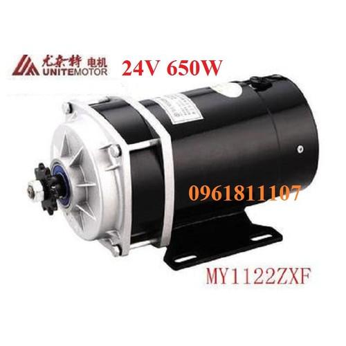 Motor giảm tốc 24v 650w