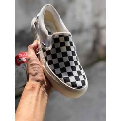 Giày Lười Caro nam nữ 36-43
