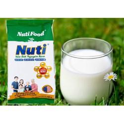 Sữa Bột Nguyên Kem Nutifood Túi 400G