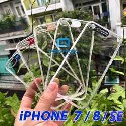 Ốp Lưng iPhone 7 , 8 , SE 2020 Viền Nhôm Bảo Vệ Camera Siêu Đẹp