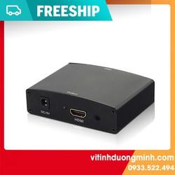 Bộ chuyển VGA to HDMI (sắt), bộ chuyển vga ra hdmi sắt chất lượng cao