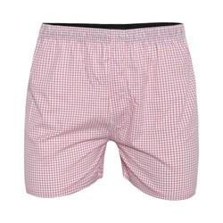 Quần đùi nam mặc nhà QD01 – Caro hồng