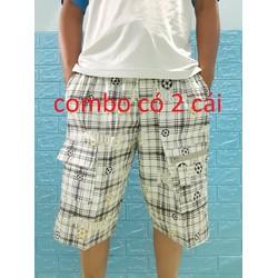 quần shorts túi hộp nam combo 2 cái