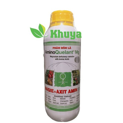 Phân bón lá growmore aminoquelant mg 1 lít cung cấp magiê
