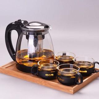 Bình lọc trà - bình lọc trà kèm 4 ly - Bình lọc trà kèm 4 ly thumbnail