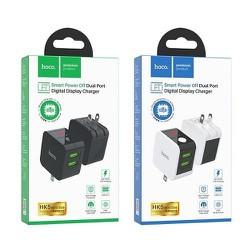 Cốc Sạc Nhanh Đa Năng Hoco HK5 Dual USB Chính Hãng - Cốc Sạc Tự Ngắt - Có Màn Hình LED