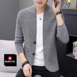 Áo khoác len áo cardigan nam mẫu mới 2020