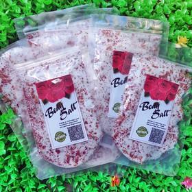 Muối tắm hoa hồng, nhiều hoa hồng khô 100g Body Sal - 5241sola