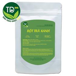 Bột trà xanh Matcha Lâm Đồng nguyên liệu làm bánh và làm đẹp, giảm mụn, sáng mịn da, 100% thiên nhiên