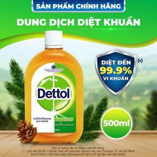 Dung dịch sát khuẩn Dettol 500ml - SP930 thumbnail