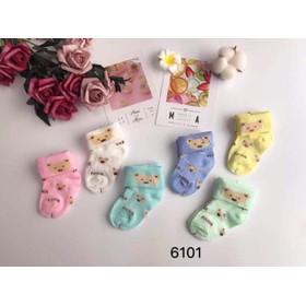 [ MẪU MỚI ] 1 đôi tất,vớ cho bé sơ sinh 0-3 tháng,TSS-/tất trẻ em/tat tre em/tất cho bé/tất sơ sinh/tất cho trẻ sơ sinh/tất cho bé gái/vớ trẻ em/vớ em bé/vớ sơ sinh/tất cho bé sơ sinh/tất chân cho bé/vớ chân cho bé - 1TSS
