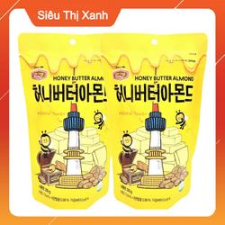 Combo 2 Túi Hạnh Nhân Tẩm Bơ Mật Ong Hàn Quốc Honey Butter Almond - Mỗi Túi 200g