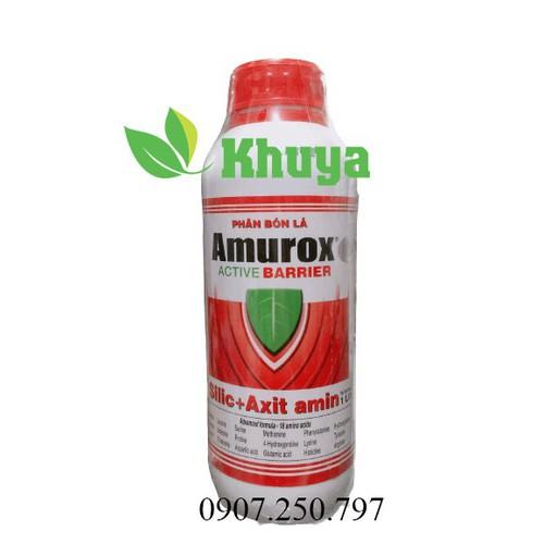Phân bón lá sinh học growmore amurox chai 1 lít cung cấp silic
