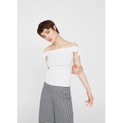 Gm store- Áo crop top trễ vai nữ màu trắng Size XS, S xách tay