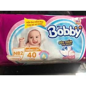 Miếng lót Bobby Newborn 2 (gói 40 miếng) - 1234