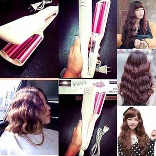 MÁY LÀM TÓC LÀ- DẬP XÙ- DẬP SÓNG BẢN LỚN HÀN QUỐC. Bảo hành 6 tháng - máy làm tóc hàn quốc thumbnail