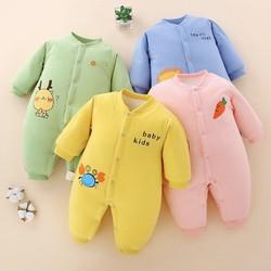 body bông cho bé sơ sinh- quần áo mùa đông cho bé