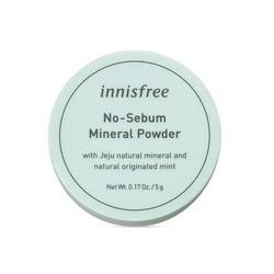 Phấn phủ bột Innisfree. No Sebum Mineral Powder