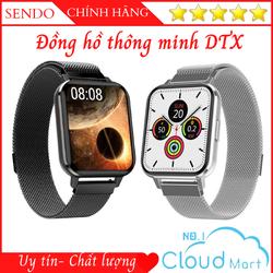 Đồng hồ thông minh DTX 100% Tiếng Việt Thay Đổi Hình Nền Chống Nước Chuẩn I68