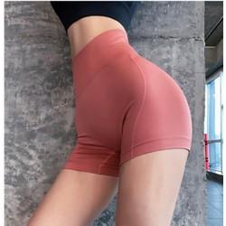 Quần đùi thể thao tập gym yoga nữ