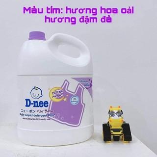 Giặt xả Dnee Thái 3000ml màu tím [ĐƯỢC KIỂM HÀNG] 34230070 - 34230070 thumbnail