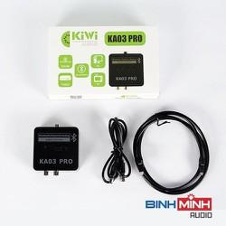 Combo Bộ chuyển quang âm thanh KIWI KA03 Pro hỗ trợ Bluetooth và Dây AV Choseal đầu 3.5mm ra 2 đầu hoa sen dài 1.8m [ĐƯỢC KIỂM HÀNG]