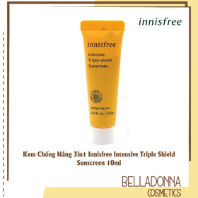 [Mini Size] Kem Chống Nắng 3in1 Innis.free Intensive Triple Shield Sunscreen 10ml - innis.cn