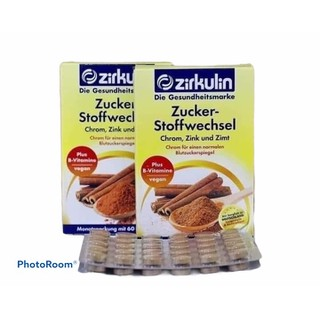 Viên uống Ổn Định Đường Huyết Zirkulin dành cho người tiểu đường - PVN837 thumbnail