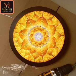 Đèn thờ hào quang Tranh trúc chỉ in MÂU NI, đường kính 40cm, (thích hợp đặt tượng thờ cao 20cm đến 40cm), đèn thờ, tượng phật - tranhtrucchiin3 thumbnail