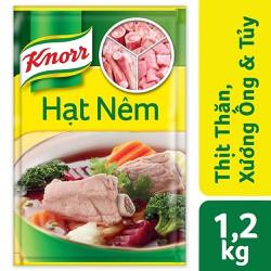 Hạt Nêm Knorr Từ Thịt Thăn, Xương Ống Và Tủy Bổ Sung Vitamin A (1200g)
